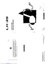 Casio LK-35 Manuals
