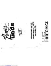 Hifonics Series VII Gemini Manuals