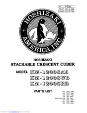 Hoshizaki KM-1200SRB Manuals