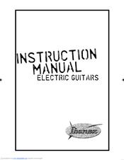 Ibanez RG Tremolo Series RG370DX Manuals