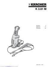 Karcher K 3.67 M Manuals