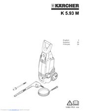 Karcher K 5.86 M Manuals