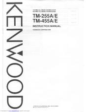 Kenwood TM-255A Manuals