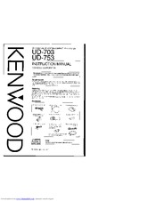 Kenwood DP-MF7 Manuals