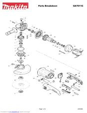 Makita GA7011C Manuals