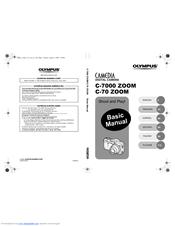 Olympus CAMEDIA C-7000 Zoom Manuals
