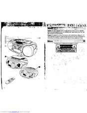 Philips/magnavox AZ1208/17 Manuals
