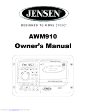 Jensen AWM910 Manuals