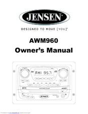 Jensen AWM960 Manuals