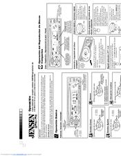 Jensen MCD 5110 Manuals