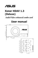 Asus Xonar HDAV1.3 Deluxe Manuals