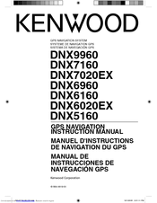 Kenwood DNX9960 Manuals