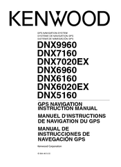 Kenwood DNX6160 Manuals