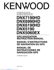 Kenwood DNX6990HD Manuals