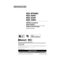 Kenwood Kdc Wiring Diagram 98 Chevy Orifice Tube Location X395 All Data Manuals Model 252u