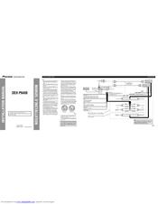 Pioneer DEH-P6400 Manuals