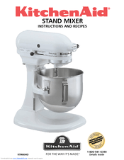 kitchen aid k5ss islands you can sit at kitchenaid stand mixer manuals instructions and recipes manual