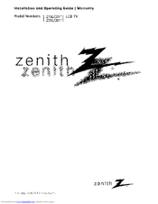 Zenith chiropractic table instruction manual