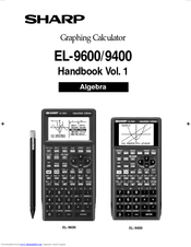Sharp EL-9600 Manuals