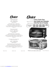 Oster 6297 Manuals
