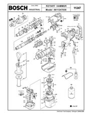 Bosch 11247 Manuals