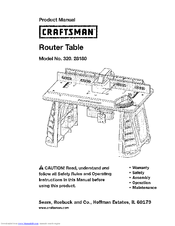 Mastercraft Router Manual