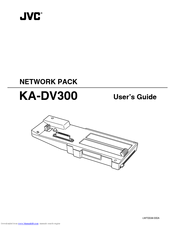 Jvc KA-DV300 Manuals
