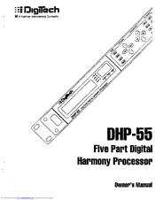 DIGITECH DHP 55 MANUAL PDF
