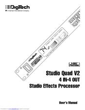 Digitech STUDIO QUAD V2 Manuals