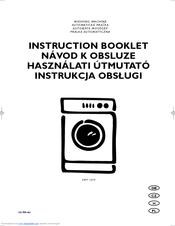 Electrolux EWF 1029 Manuals