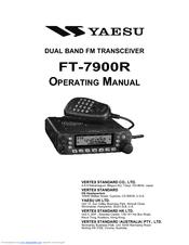 Yaesu FT-7900R Manuals