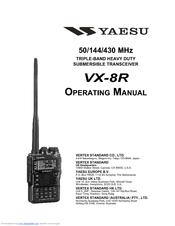 Yaesu VX-8R Manuals