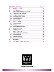 Martin Audio H3 Manuals