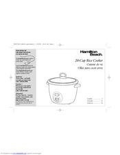 Hamilton Beach 37538H Manuals