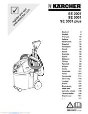 Karcher SE 3001 Manuals