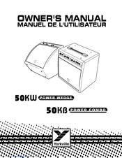 Yorkville 50KW POWER WEDGE Manuals