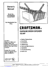 Craftsman 139.53975SRT Manuals