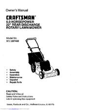 Craftsman 6.0 HORSEPOWER 22