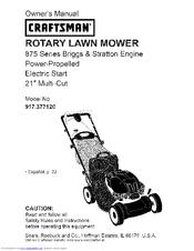 Craftsman ROTARY 917.37712 Manuals