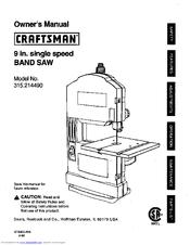 Craftsman 315.21449 Manuals