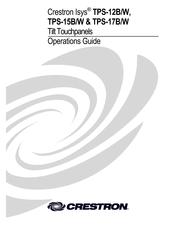 Crestron TPS-15B/W Manuals