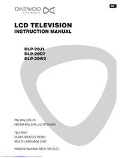 Daewoo DLP-20D7 Manuals