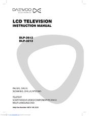 Daewoo DLP-3212 Manuals