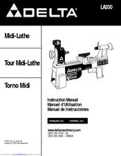 Delta LA200 Manuals