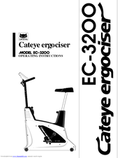 Cateye ergociser EC-3200 Manuals