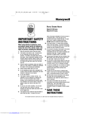 Honeywell HZ-341 Series Manuals