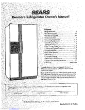 Kenmore Side by Side 21 Manuals