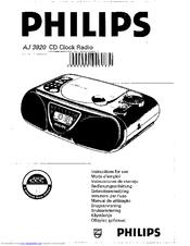 Philips AJ 3920 Manuals