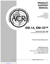 Acr Electronics EM-1A MEGAPHONE Manuals