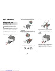 Lexmark C544dn Manuals
